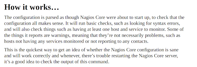 Nagios Configuration Check