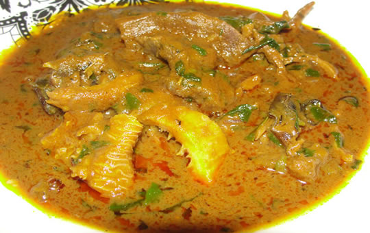 Learn how to make Banga soup
