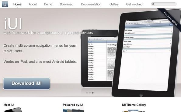 iUI Web Framework