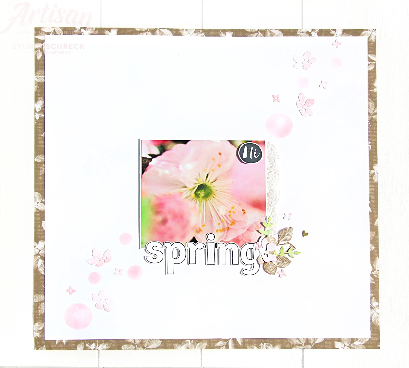 Layout-Spring-Stampin Up