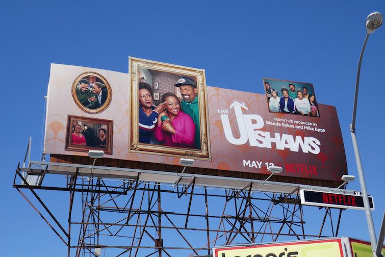 Upshaws series premiere billboard