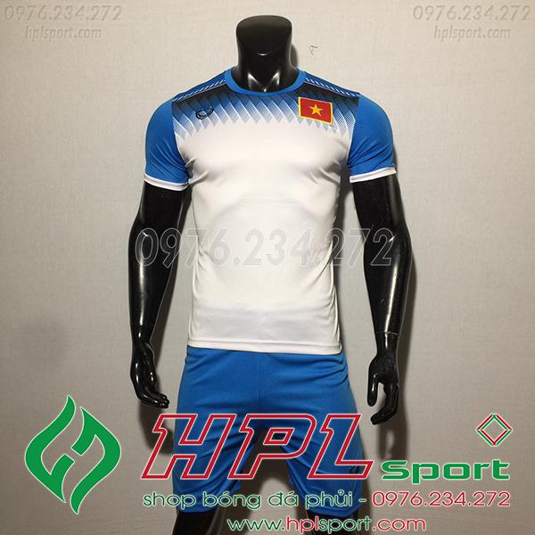 Áo training đội tuyển Việt nam màu trắng 2020
