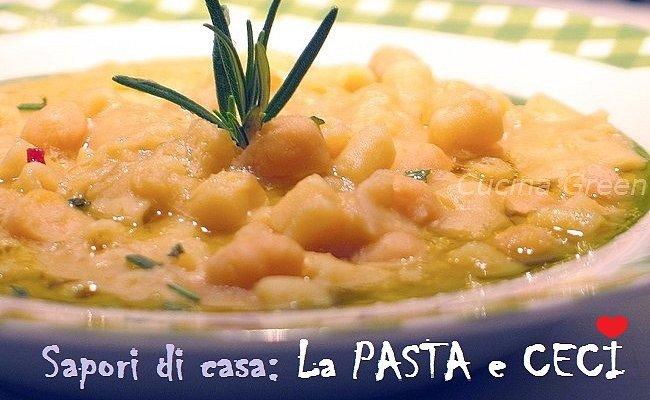 Cucina Green Pasta E Ceci Ricetta Cremosa