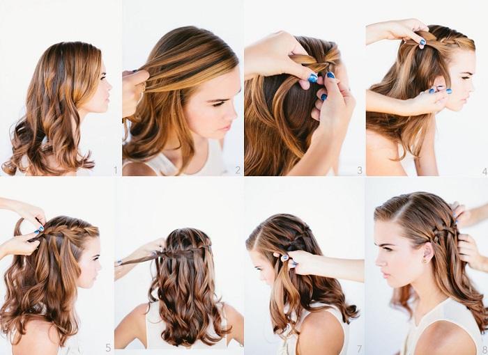 Peinados Para Fiestas Mima Tu Cabello - Como-hacer-peinados-de-fiesta-faciles-paso-a-paso