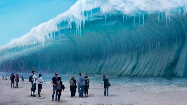 Proses Terjadinya Bencana Tsunami