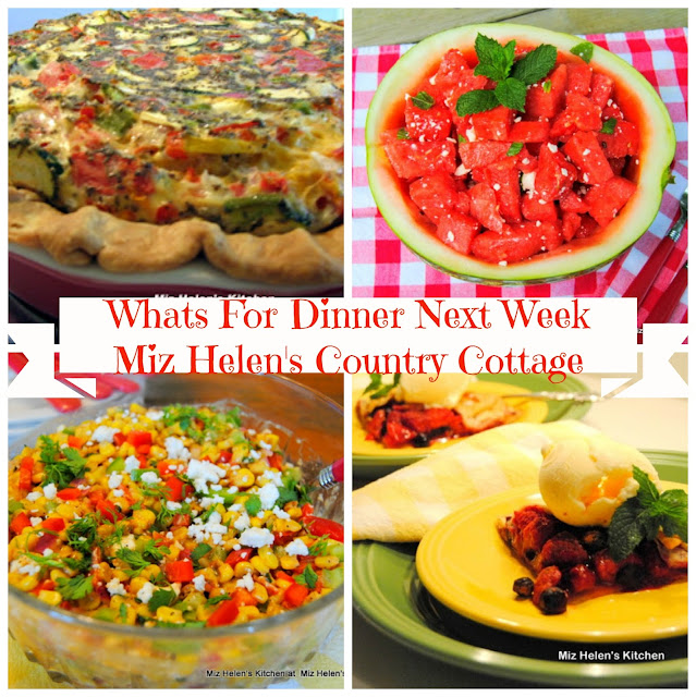 Whats For Dinner Next Week at Miz Helen's' Country Cottage