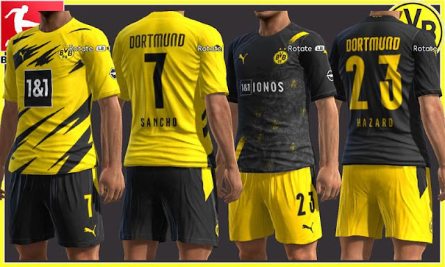 Pes 2013 Borussia Dortmund 20 21 Kits Kazemario Evolution