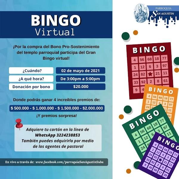 Bingo Parroquia San Agustín
