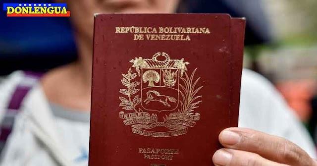OJO | Pasaporte venezolano ahora dura 10 años y tiene 5 de prórroga