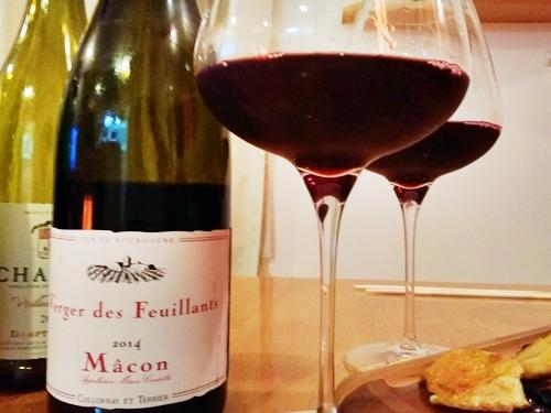 Macon Rouge Verger des Feuillants (2014) マコンルージュ