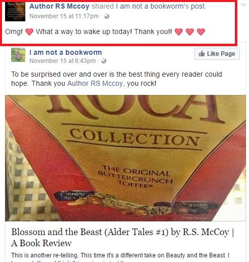 hug back from rs mccoy on blossom and the beast review