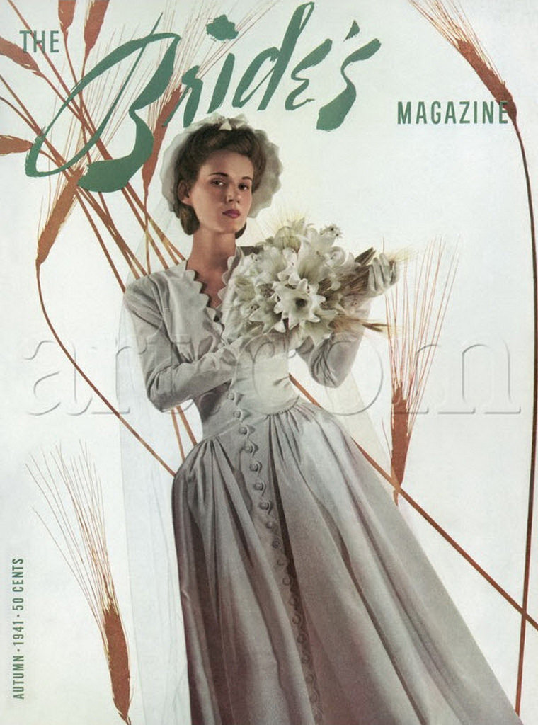 Vintage Bridal Inspiration A Collection Of 27 Beautiful Covers The Bride S Magazine In 1940s