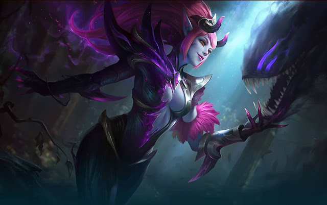Selena Abyssal Witch Heroes Assassin Mage of Skins Mobile Legends Wallpaper HD for PC