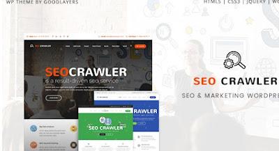 SEO Crawler v1.0.1 Digital Marketing Agency Wordpress Theme