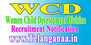 WCD (Women Child Development Division) Recruitment Notification 2016 wcdhry.gov.in
