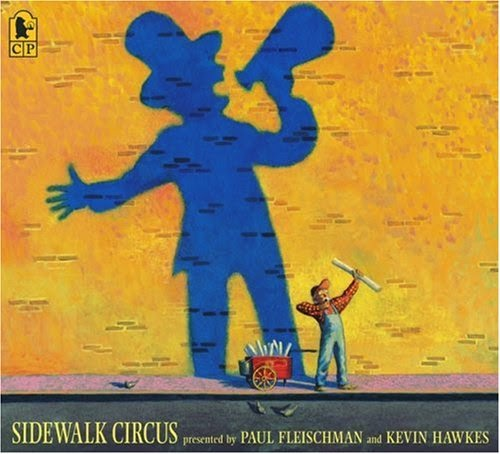 Sidewalk Circus, part of children's book review list about the circus