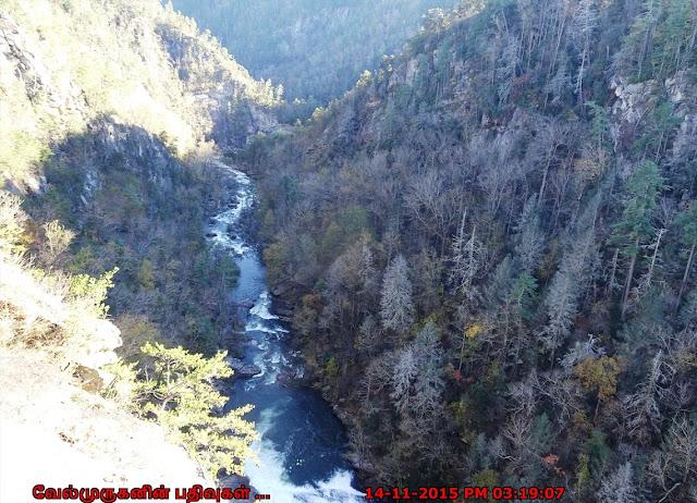 Scenic Georgia mountains