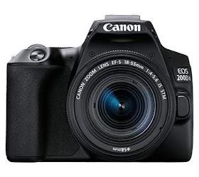 Canon EOS 200D II 24.1MP Digital SLR Camera