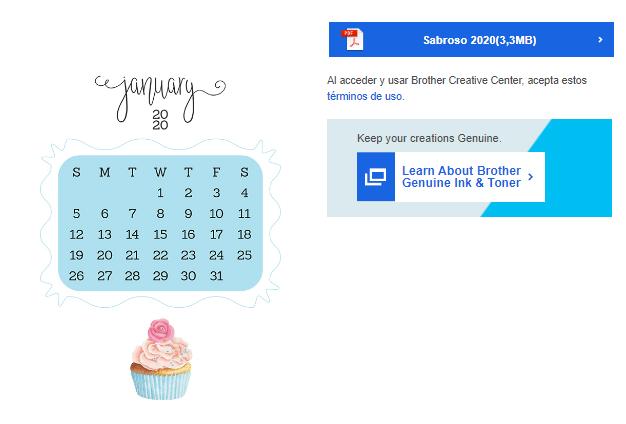 Calendarios 2021 mensuales para imprimir gratis