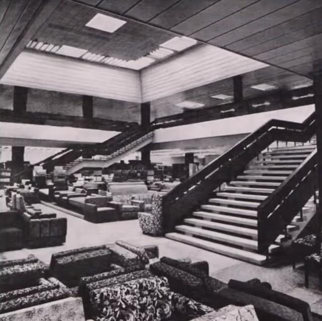 Дом мебели в Риге СССР