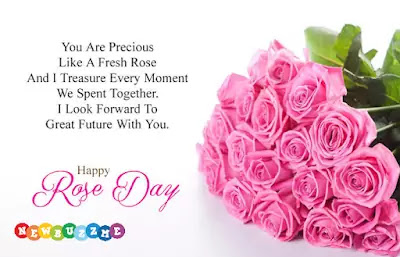 Happy Rose Day Quotes, SMS, Messages & Images 2020