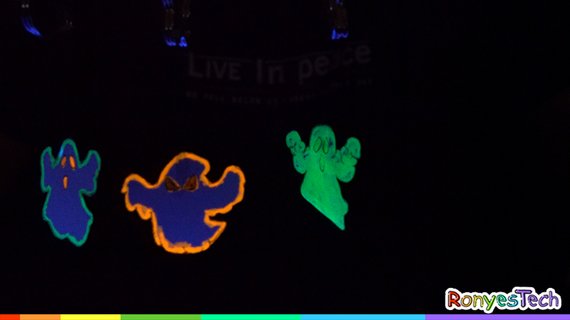 Halloween Anti-Gravity Glow-in-the-Dark Ghost For Kids