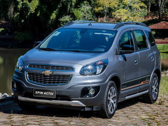 Chevrolet Spin 2018: preços, consumo e detalhes