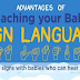 Advantages of Teaching Your Baby Sign Languages #infographic