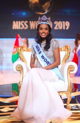 Miss World Jamaica, Toni-Ann Singh has been crowned the 69thMiss World