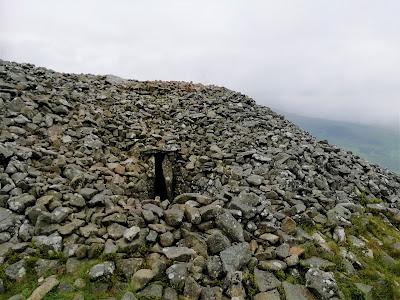 Seefin Passage Tomb, Cairn