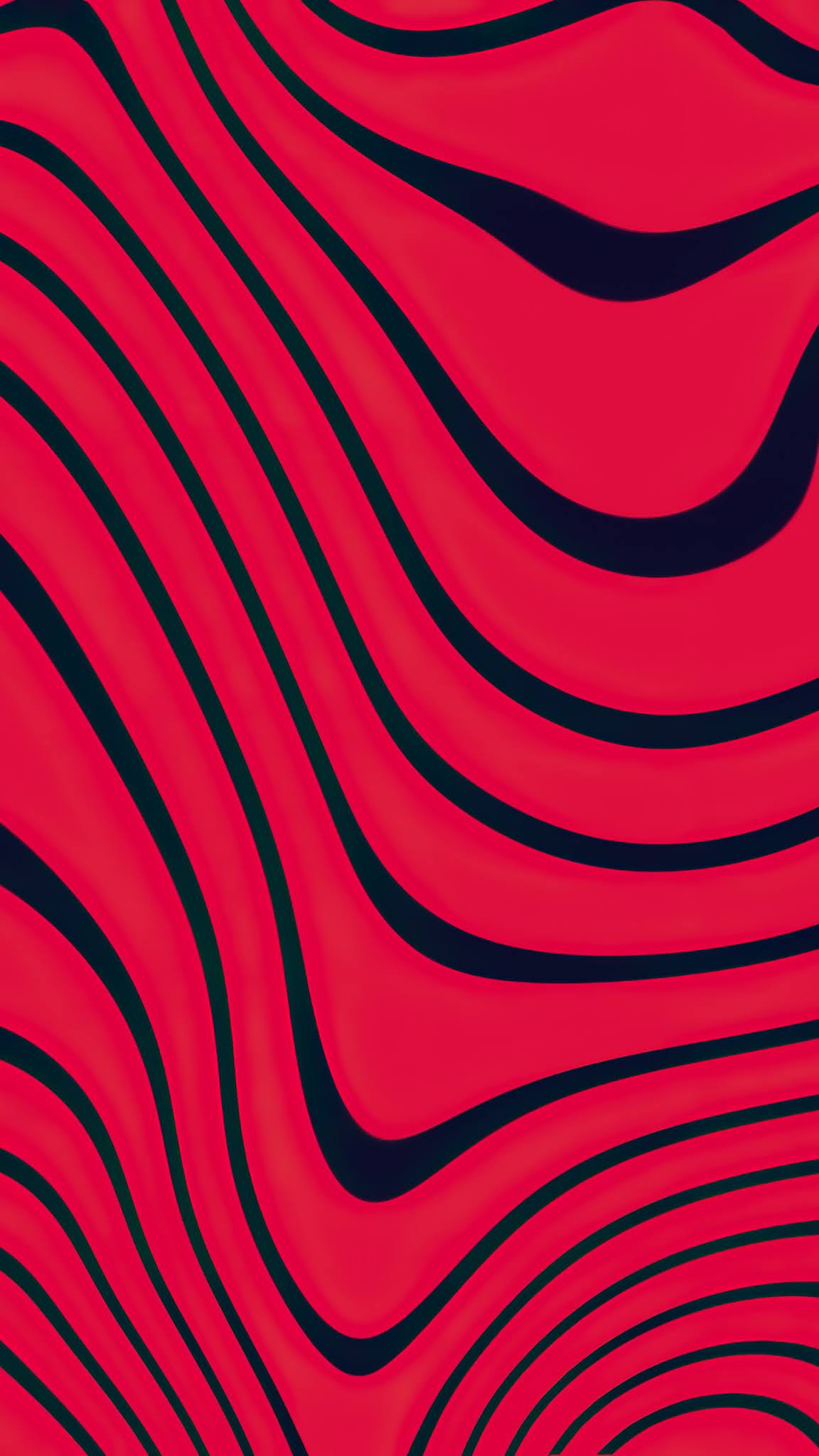 red color lines mobile wallpaper
