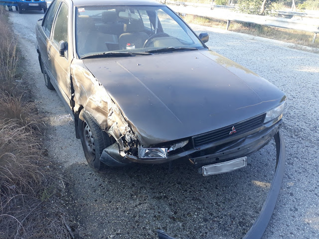Ηγουμενίτσα: Τροχαίο ατύχημα στον περιφερειακό μεταξύ δύο οχημάτων (+ΦΩΤΟ)