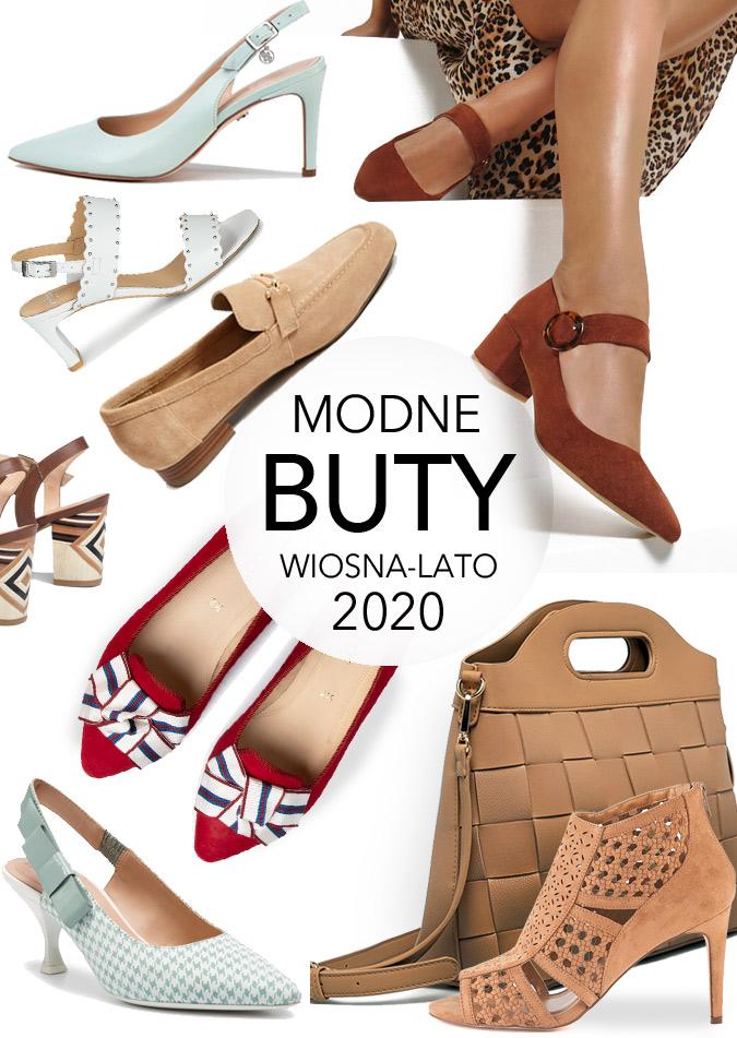 Buty na wiosnę 2020 damskie