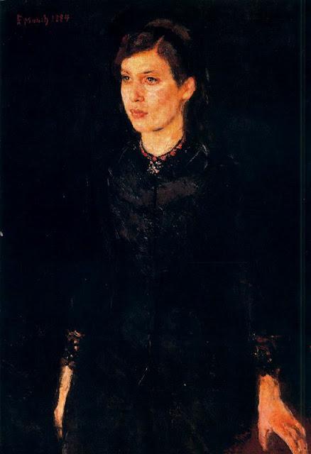 Эдвард Мунк - Сестра Ингер. 1884