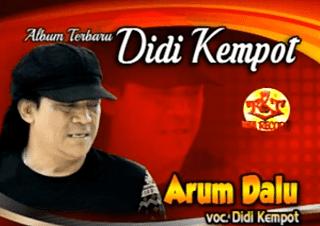Lirik Lagu Arum Dalu - Didi Kempot