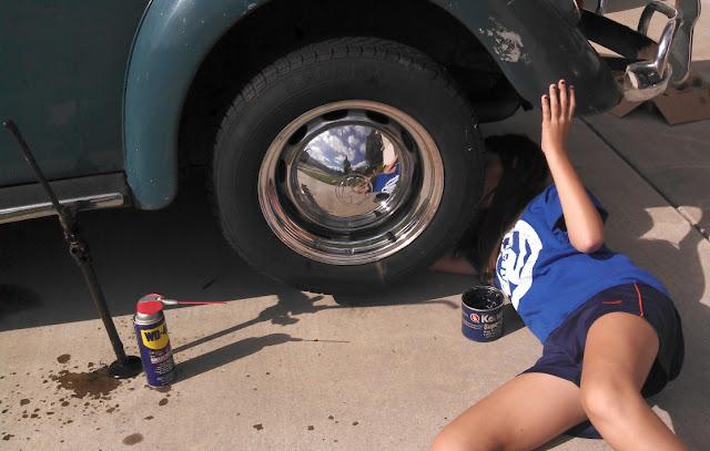 Gas Pedal Restoration Allison S 1964 Vw Beetle Quot Ellie Quot