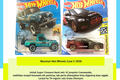 Bocoran Hot Wheels Case C 2020