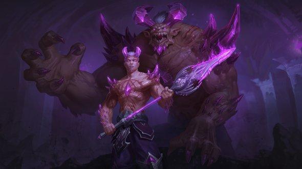 Jon Neimeister deviantart arte ilustrações fantasia mitologia games smite