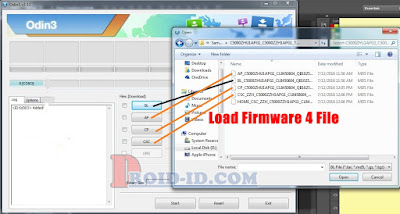 load firmware 4 file samsung