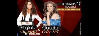 Concierto de GIGLIOLA CINQUETTI y CLAUDIA DE COLOMBIA