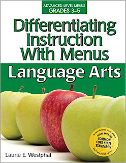 Differentiating Instruction With Menus: 3-5 Language Arts