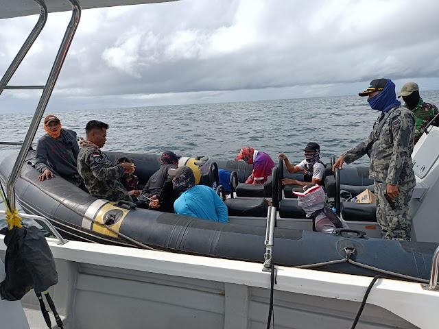 KKP Amankan Pelaku Sport Fishing Ilegal Asal Malaysia di Perairan Sebatik