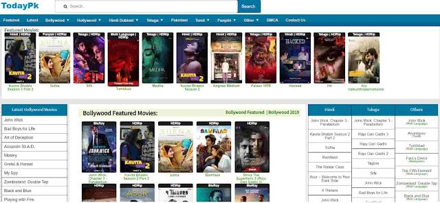 Todaypk 2020 Latest movies online download