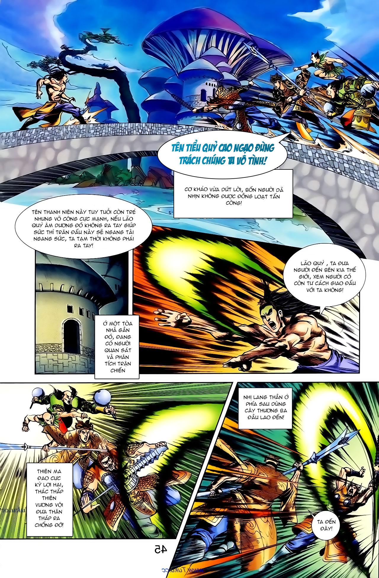 Cơ Phát Khai Chu Bản chapter 103 trang 19