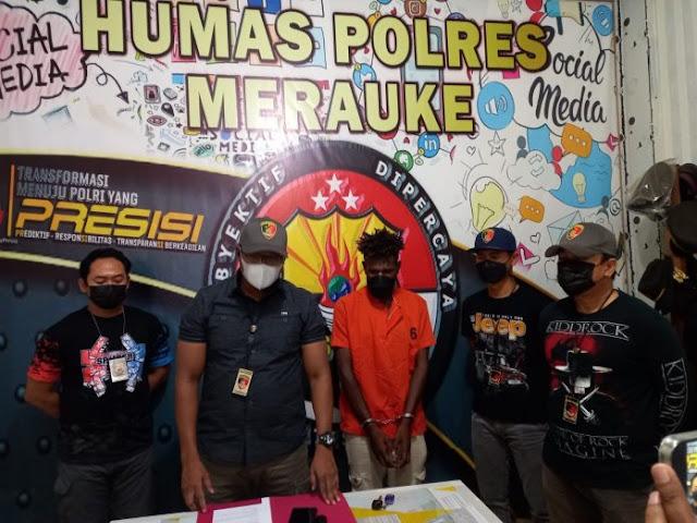 Polres Merauke Berhasil Ungkap Kasus Curanmor di Jalan Parakomando dan Tidore.lelemuku.com.jpg