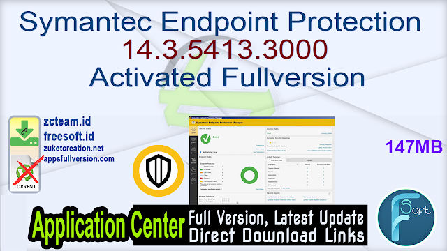 Symantec Endpoint Protection 14.3.5413.3000 Activated Fullversion