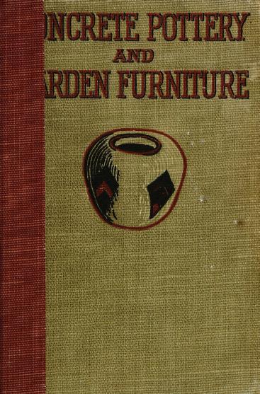 Concrete pottery and garden furniture PDF book