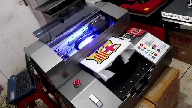 T-Shirt Printing yang Menggunakan Cat Waterbase (Rubber)