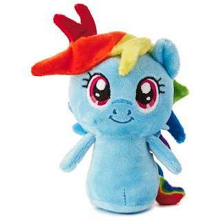 itty bittys Rainbow Dash my little pony stuffed Hallmark toy