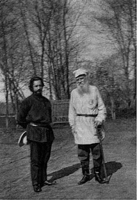 Лев Толстой с уважением относился к таланту Л.Андреева и фактически выступал в роли литконсультанта. Хотя по психотипу они абсолютно противоположны